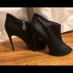 Betsey Johnson Black Stiletto Booties